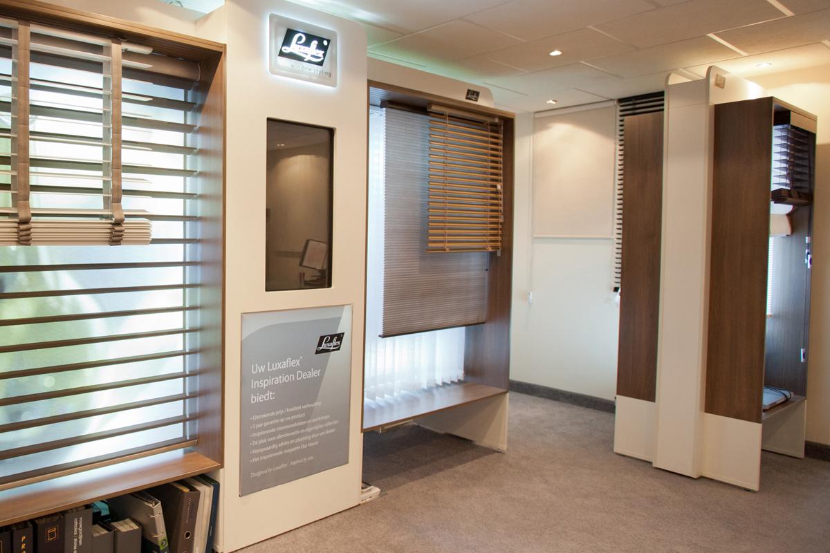 18 showroom eurlings interieurs luxaflex inspiration shop