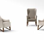 Giorgetti- fauteuil Mobius