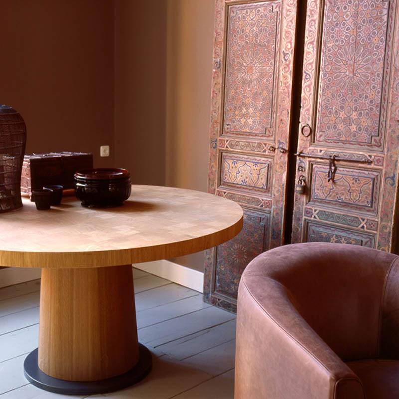 van rossum kops eettafel rond van rossum meubelen jpg 800x800 van rossum meubelen bij eurlings interieurs