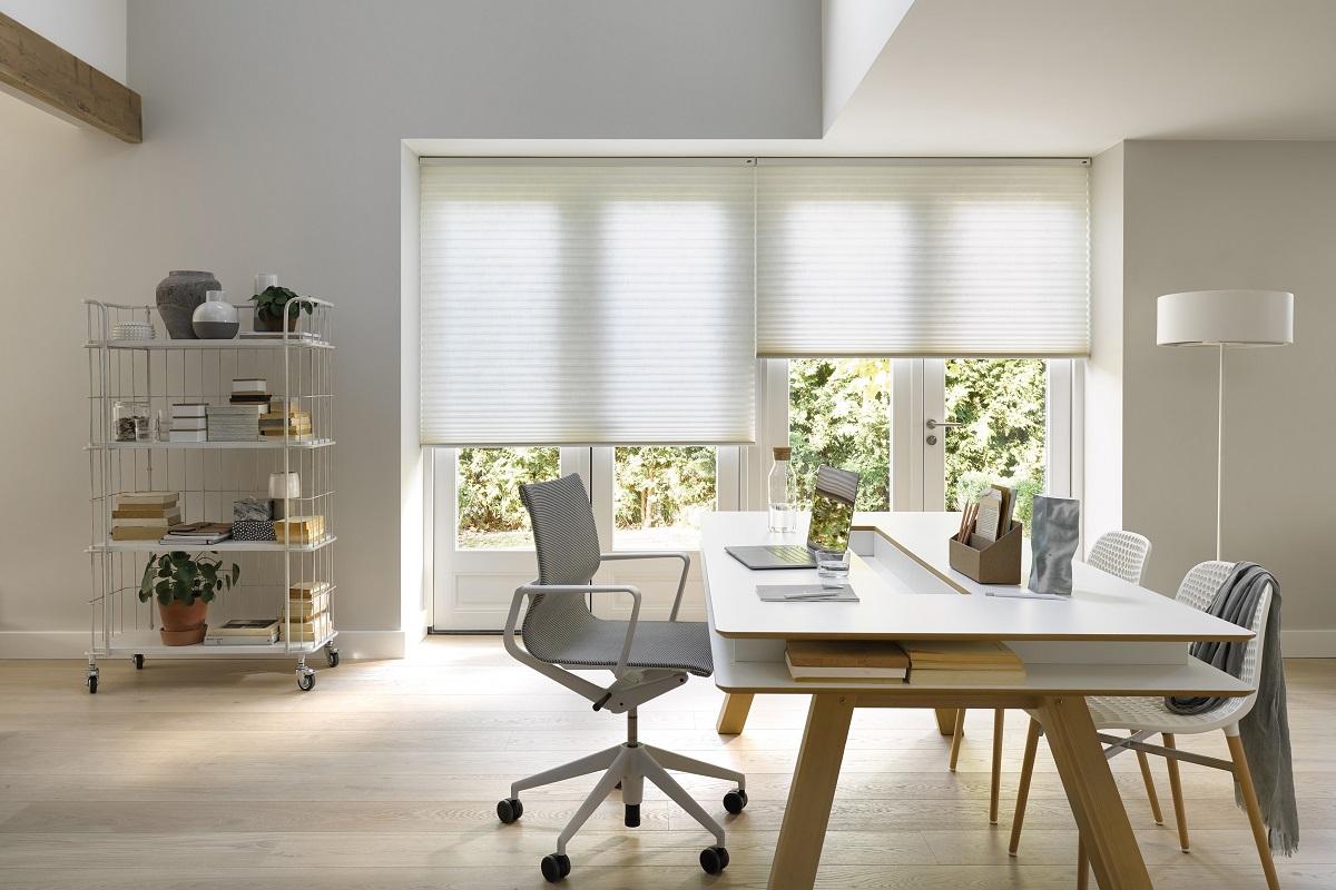 Plisse Gordijn Luxaflex : Luxaflex duette plissé shades eurlings interieurs