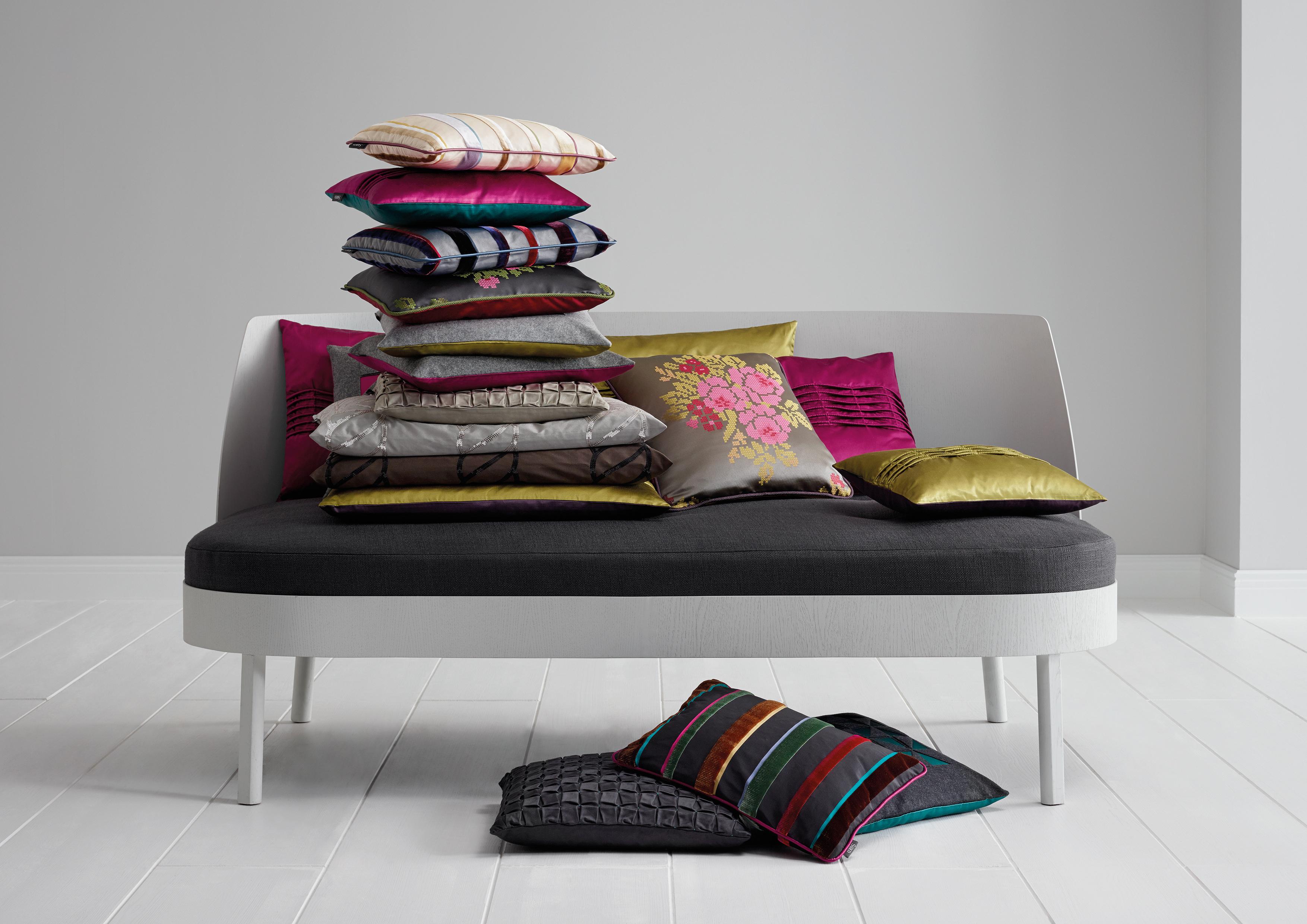 Sahco HomeCollection_Cushion_mix - Eurlings Interieurs