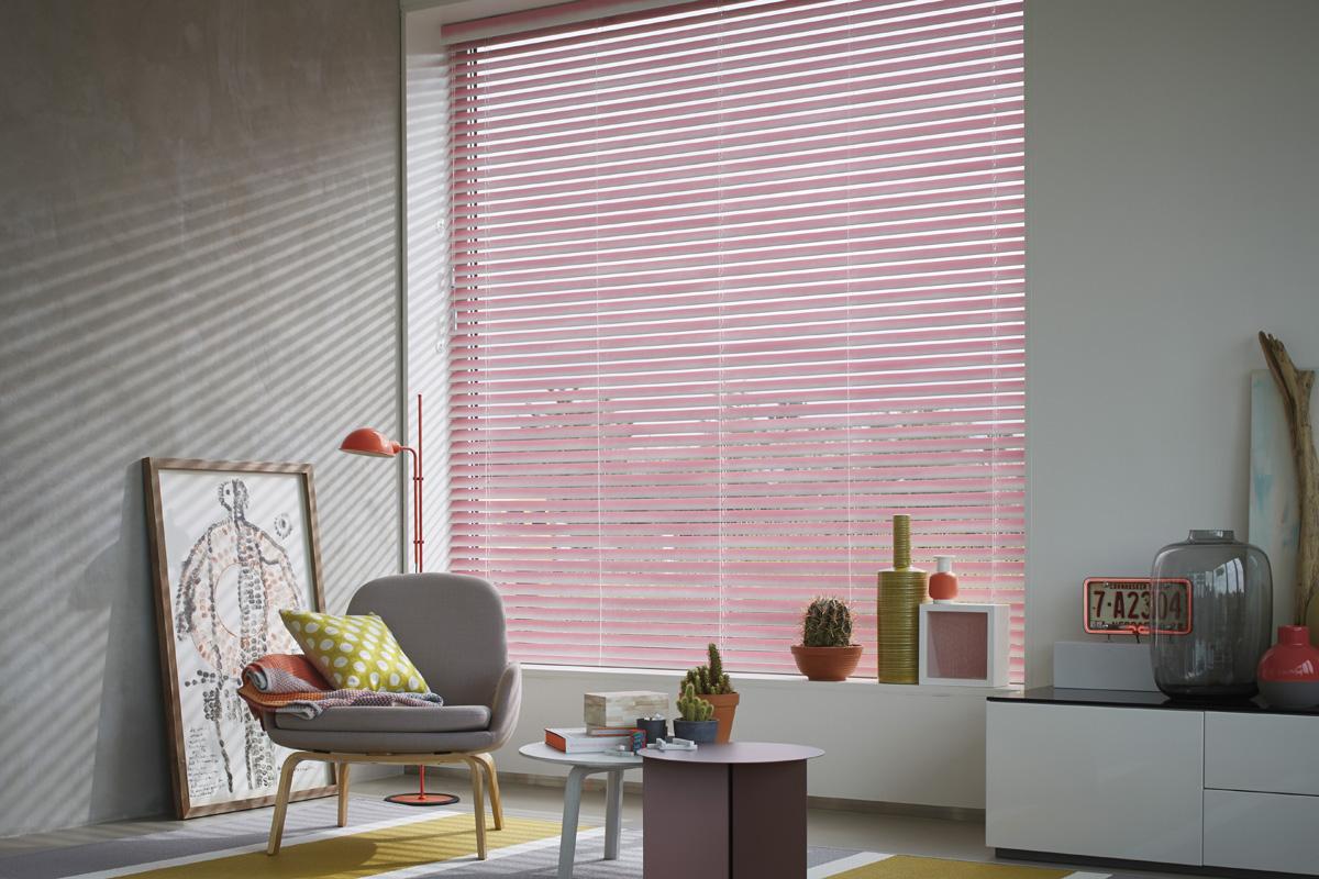 Luxaflex: nieuwe collectie houten jaloezieën - Eurlings Interieurs