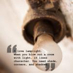 Interiorquote lamplight