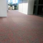 Project vloerbedekking kantoor Woningstichting Voerendaal