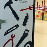 Project Sintermeertencollege deurbestickering