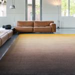 De Millenerpoort Designtapijt Corso 25 met kleurverloop bruin