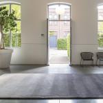De Millenerpoort Designtapijt Corso 25 met kleurverloop grijs
