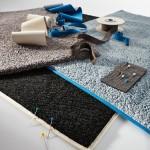 Jab Abstoetz tapijt met rand Collage